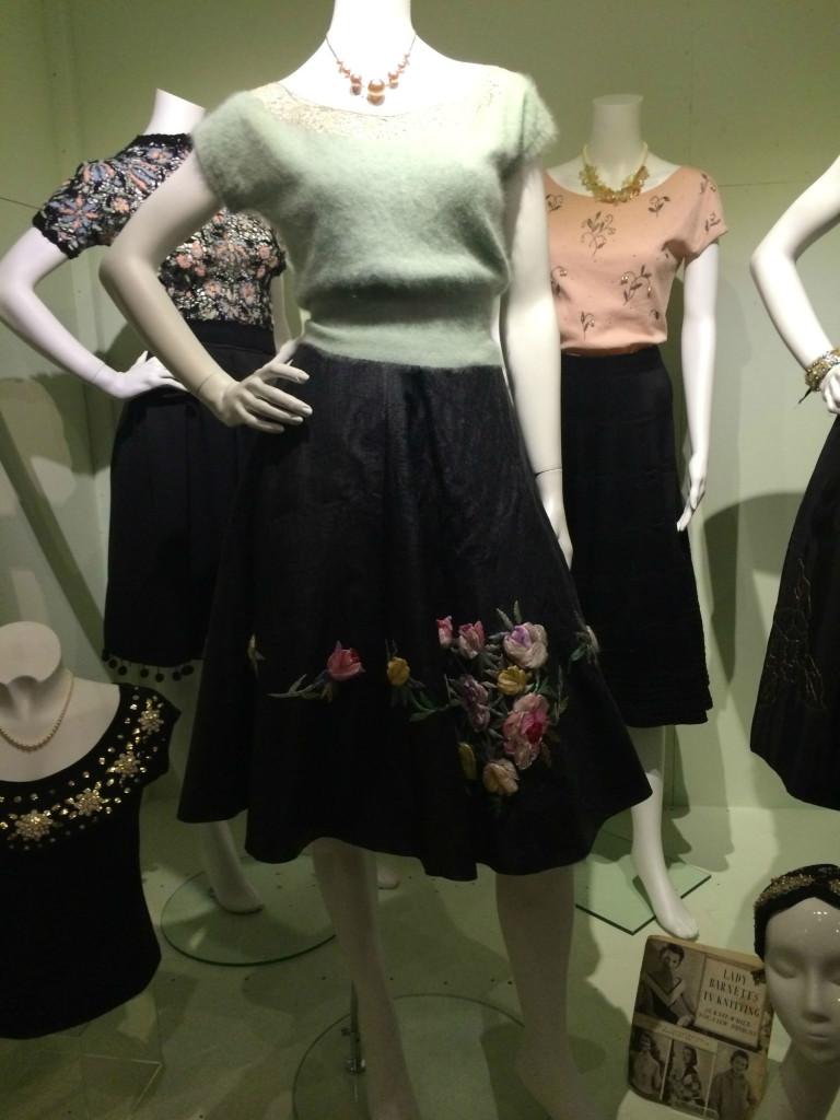 1950 knitwear